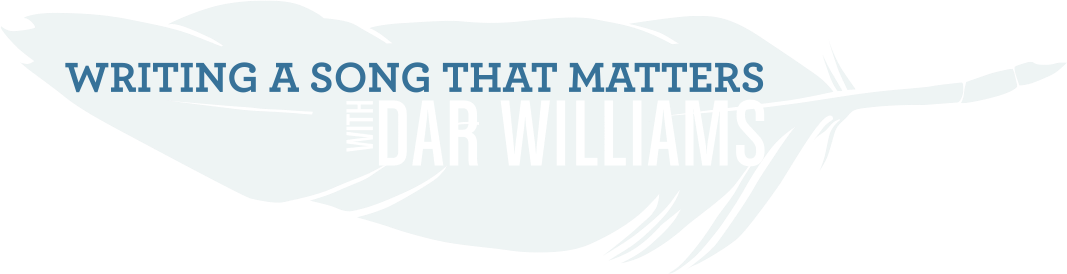 Dar Williams Retreat: Writing a Song that matters